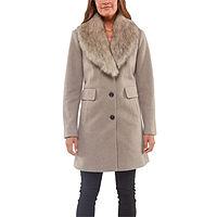 Deals on Liz Claiborne Heavyweight Overcoat