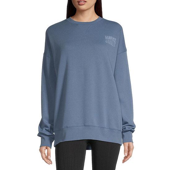 Flirtitude Juniors Graphic Sweatshirt