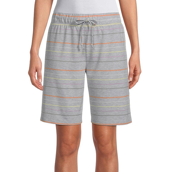 Jaclyn Womens Knit Pajama Shorts
