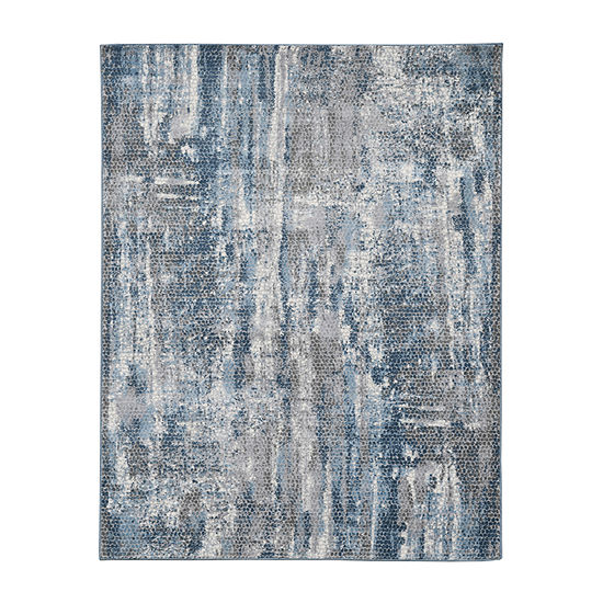 Amer Rugs Carisso Luna Abstract Rectangular Indoor Rugs
