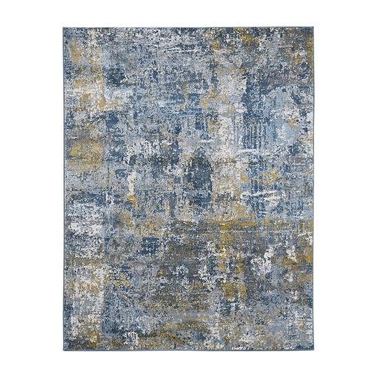 Amer Rugs Carisso Baru Abstract Rectangular Indoor Rugs