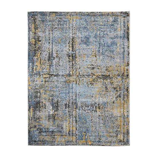 Amer Rugs Carisso Jase Abstract Rectangular Indoor Rugs