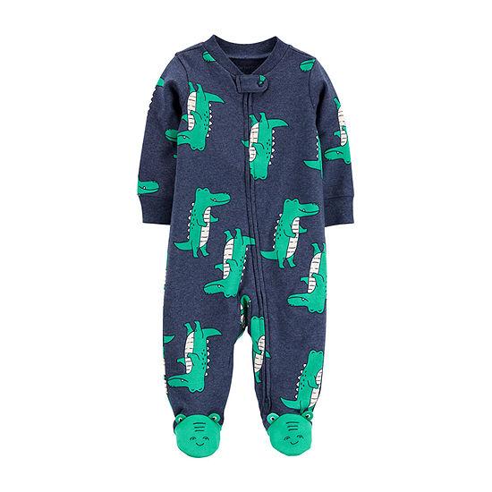 Carter's 2-Way Zipper Baby Boys Sleep and Play