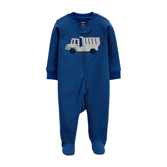 Carter's 2-Way Zipper Baby Boys Sleep and Play