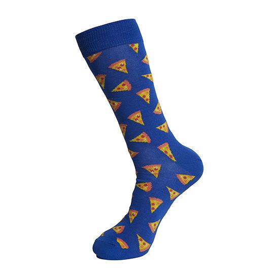 HS By Happy Socks Mens 1 Pair Crew Socks