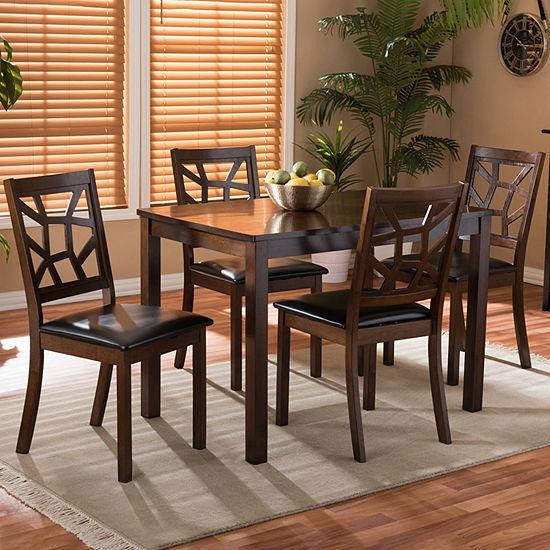 Mozaika Dining Collection 5-pc. Rectangular Dining Set