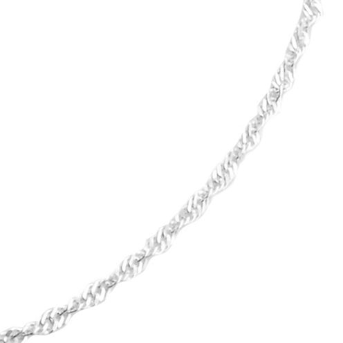 "Sterling Silver 16"" Chain Necklace"