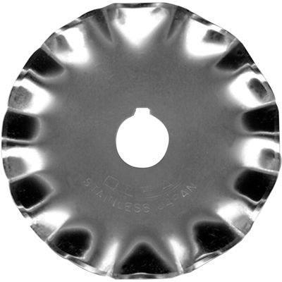 Rotary Blade 45mm Scallop Refill