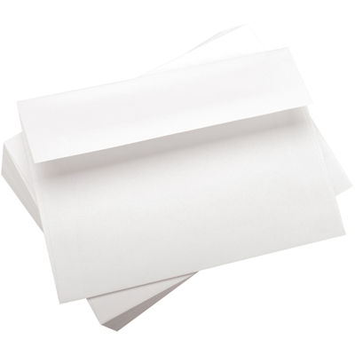100-Pack A7 White Envelopes
