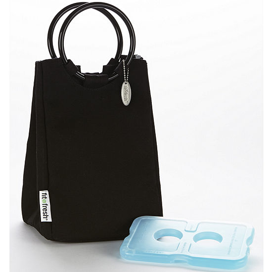 Fit Fresh Las Retro Lunch Bag With Ice Pack