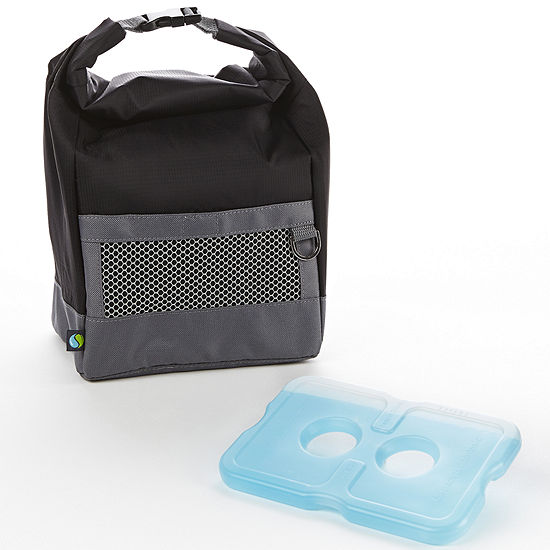 Fit Fresh Men S Sporty Lunch Bag With Ice Pack