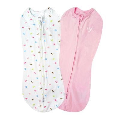 Summer Infant Swaddleme® Pod - Bow 2-pc. Swaddle Blanket