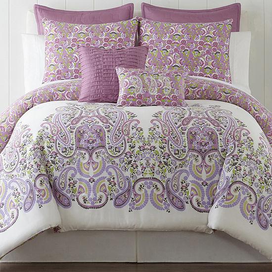 Roselle Lilac 5-pc. Comforter Set