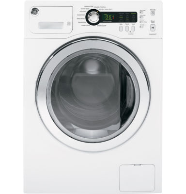 GE® ENERGY STAR®  2.2 DOE cu. ft. High Efficiency Front Load Washer