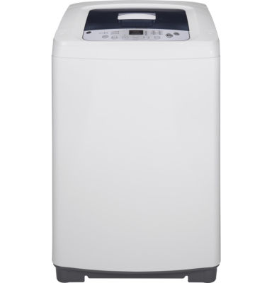 GE® Space-Saving 2.6 DOE Capacity Top-Loading Portable Washer