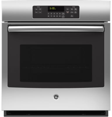 "GE® 27"" Built-In Single Electric Wall Oven Standard Clean with Steam"