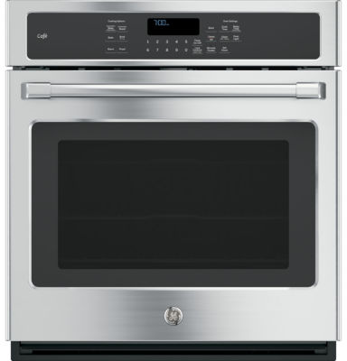 "GE Café ™ 27"" Built-In Single Wall Oven With Convection"