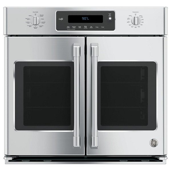 "GE Café ™ 30"" Built-In Single French Door Wall Oven With Convection"