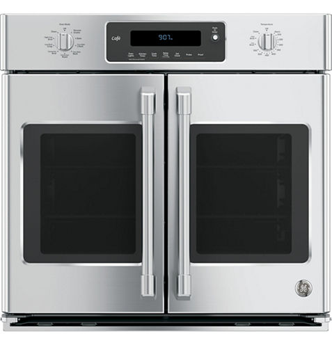 """GE Café ™ 30"""" Built-In Single French Door Wall Oven With Convection"""