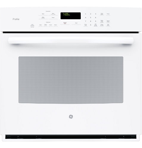 """GE Profile™  30"""" Electric Wall Oven Self Cleaning With Steam Plus Convection"""