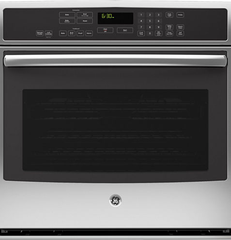 "GE Profile™  30"" Electric Wall Oven Self Cleaning With Steam Plus Convection"