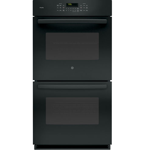"""GE Profile™  27"""" Double Electric Wall Oven Self Cleaning With Steam Plus Convection"""