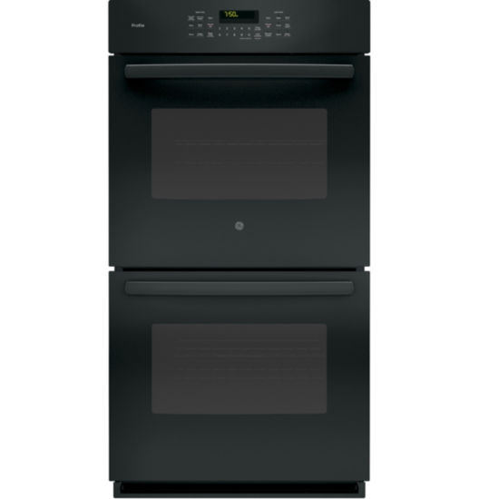 "GE Profile™  27"" Double Electric Wall Oven Self Cleaning With Steam Plus Convection"