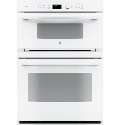 "GE Profile™  30"" Electric Convection Wall OvenSelf Cleaning With Built-In Microwave"