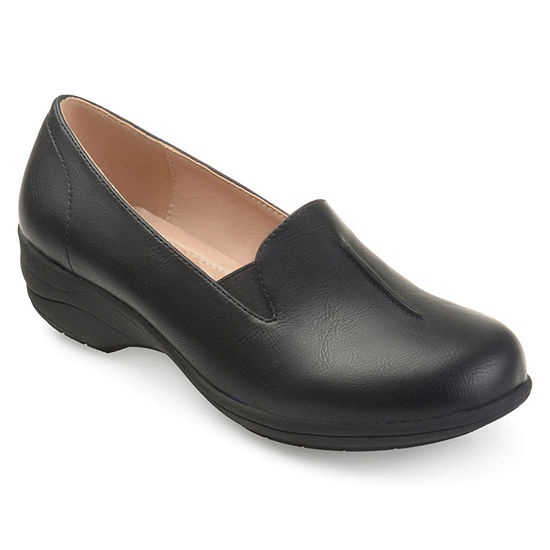 Journee Collection Womens Ellery Loafers Round Toe