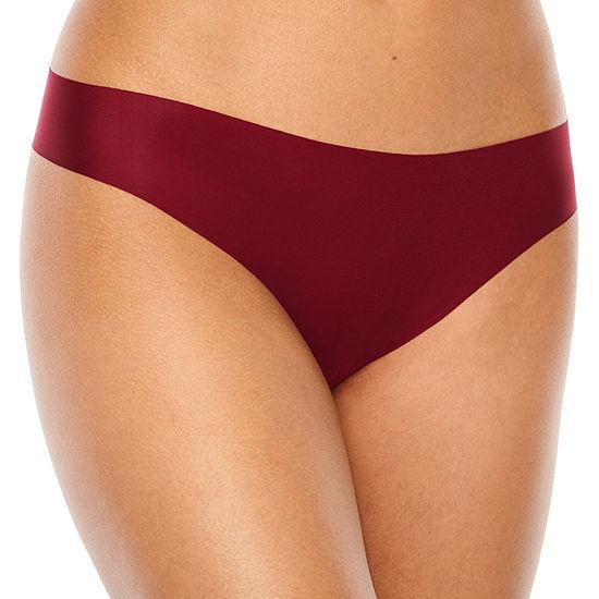 Ambrielle Microfiber Thong Panty
