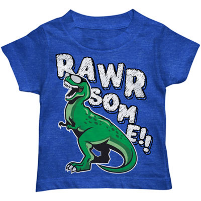 Graphic Short Sleeve T-Shirt-Toddler Boys
