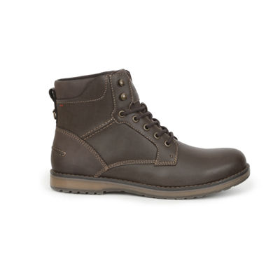 IZOD Mens Leon Lace Up Boots Lace-up