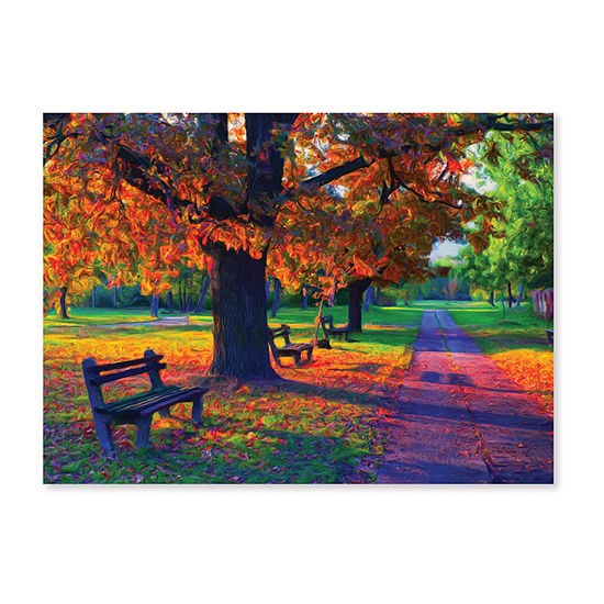 Melissa & Doug® 1500 pc Walk in the Park Cardboard Jigsaw