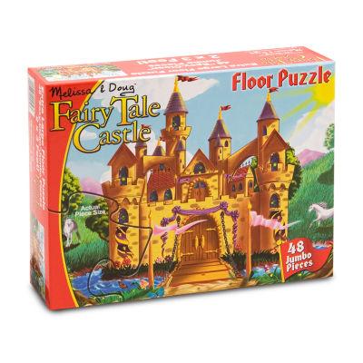 Melissa & Doug® Fairy Tale Castle Floor (48 pc)