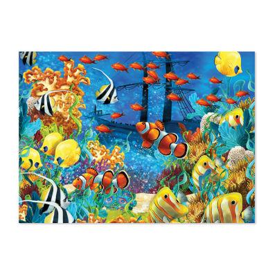 Melissa & Doug® 1500 pc Shipwreck Reef Cardboard Jigsaw