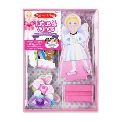 Melissa & Doug Magnetic Dress-Up - Tutus & Wings