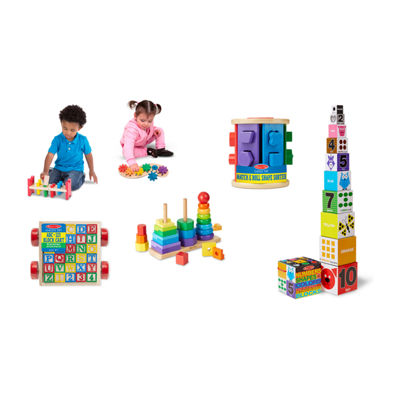 Melissa & Doug  Let's Play Skill Builders Bundle