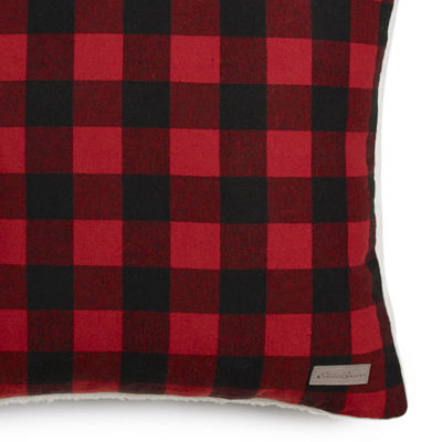 Eddie Bauer Edgewood Plaid Square Pillow