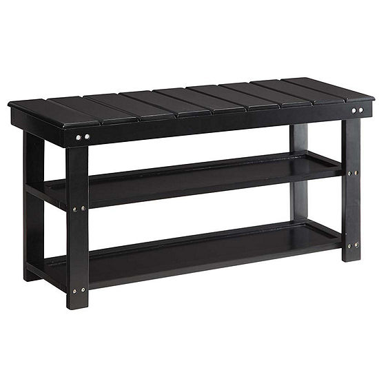 Convenience Concepts Oxford Utility Mudroom Bench