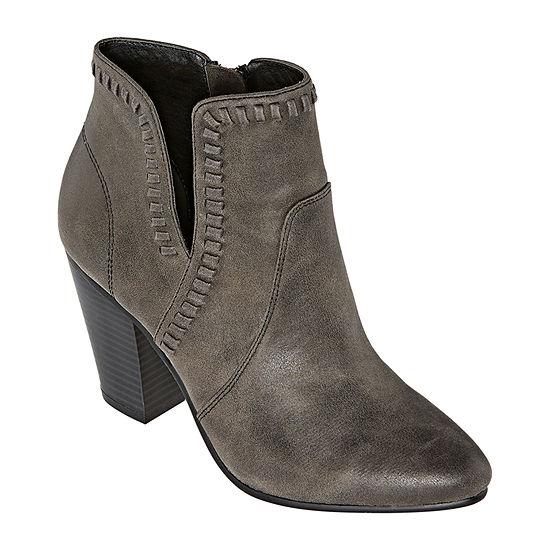 Zigi Girl Womens Harleth Block Heel Booties