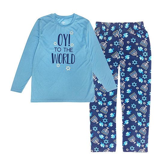 Hanukkah Family Mens 2-pc. Pant Pajama Set