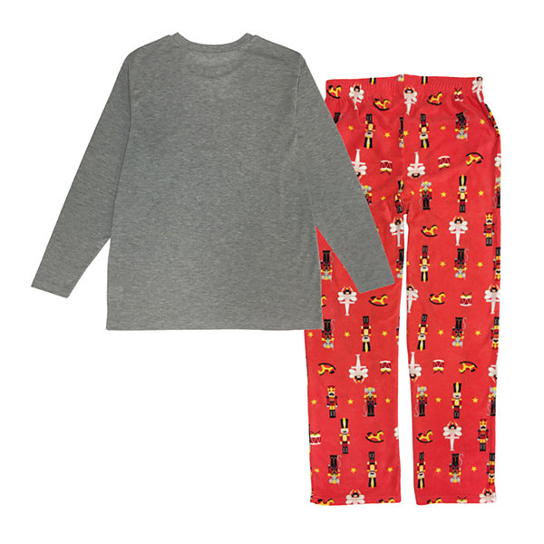 Secret Santa The Nutcracker Family Mens 2-pc. Pant Pajama Set