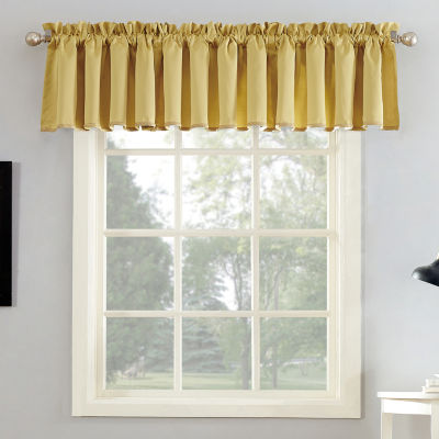 Sun Zero Emory Rod-Pocket Tailored Valance
