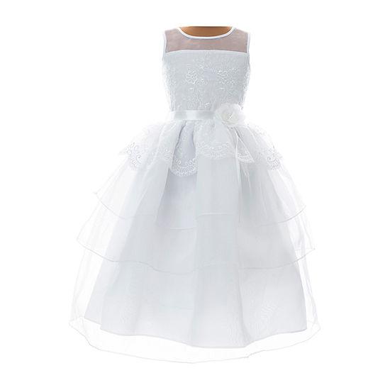 Keepsake First Communion Girls Sleeveless A-Line Dress - Preschool / Big Kid