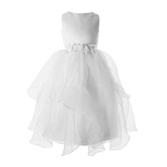 Keepsake First Communion Little & Big Girls Sleeveless A-Line Dress