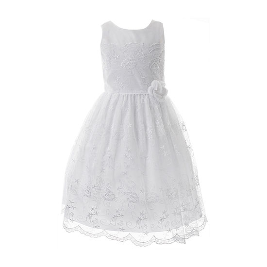 Keepsake First Communion Girls Sleeveless A-Line Dress - Preschool / Big Kid