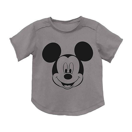 Disney Toddler Boys Crew Neck Mickey Mouse Short Sleeve Graphic T-Shirt