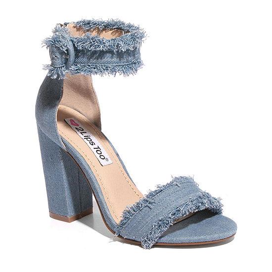 2 Lips Too Sierra Womens Heeled Sandals