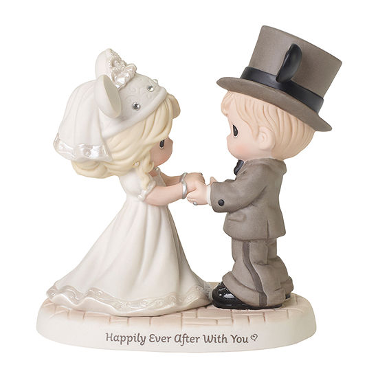 Precious Moments Disney Wedding Couple Figurine