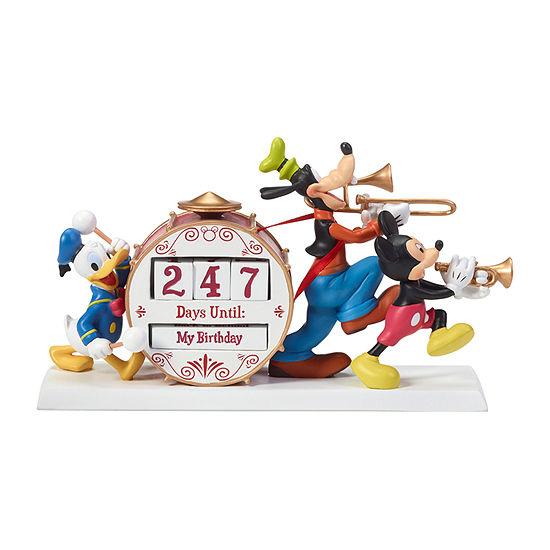 Precious Moments Disney Mickey And Friends Countdown Calendar 5-pc. Tabletop Decor